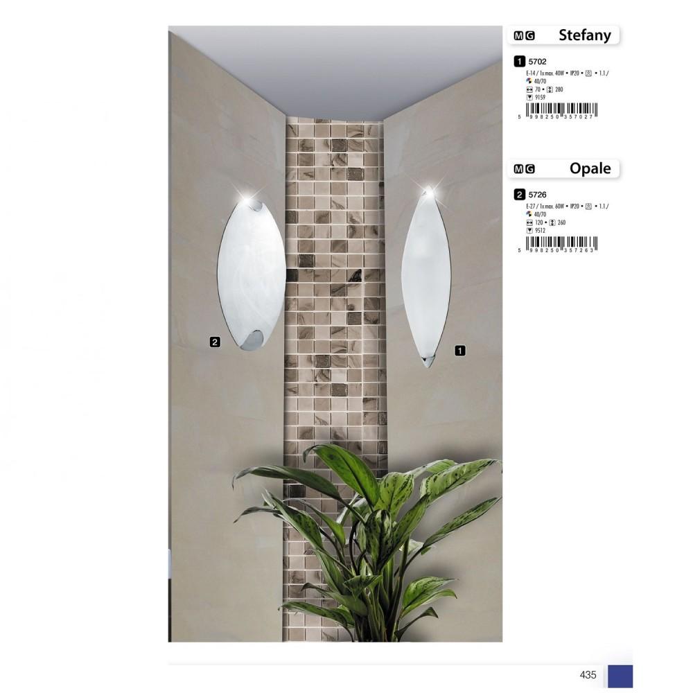 Rábalux 5726 Opale fürdőszobai fali lámpa